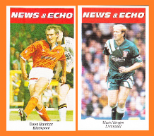 Blackpool Dave Bamber Liverpool Mark Wright England